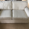 DOUBLE SEAT SOFA BED FREE TO COLLECT BY MONDAY  15 JUNE